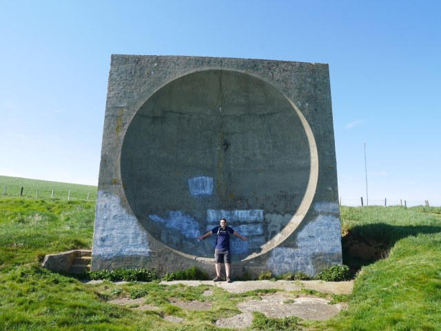 Huge acoustic mirror