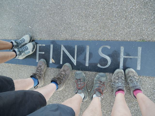 We finished!