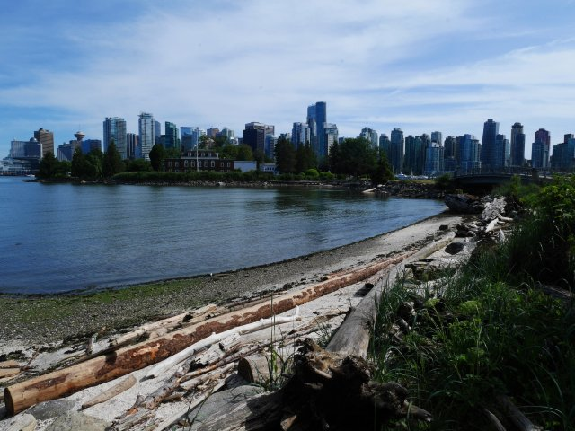Vancouver from Stanley Island