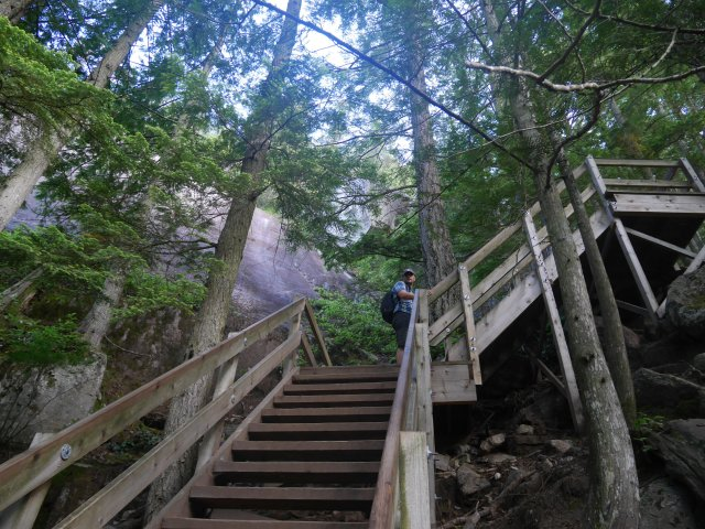 At the start, it is a bit like the Grouse Grind