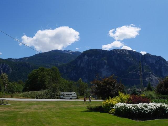 Stawamus Chief from Squamish