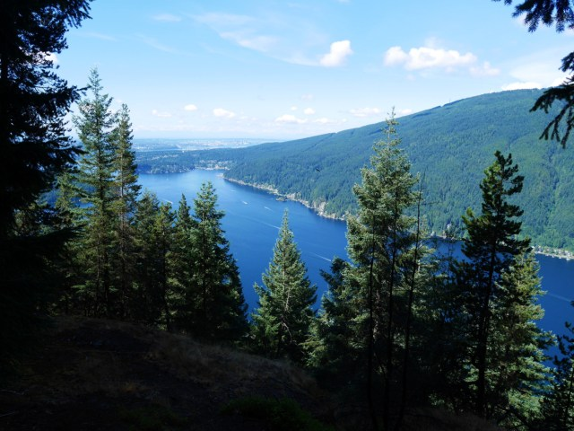 Looking down to the Indian Arm