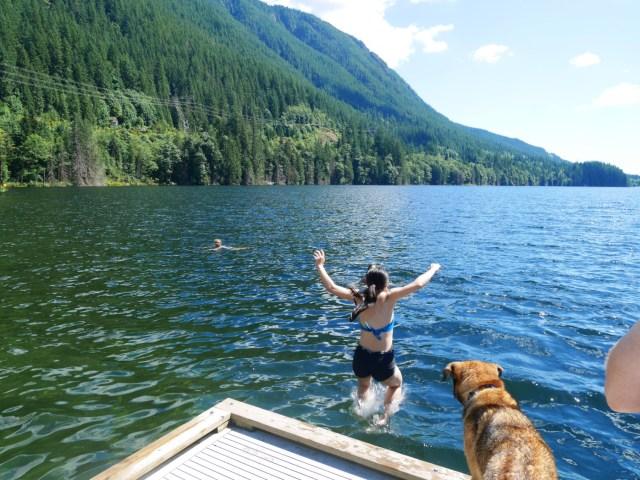 Lake jumps!