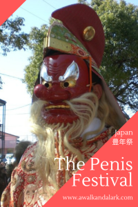 Tengu at the Penis Festival in Japan - Hounen Matsuri