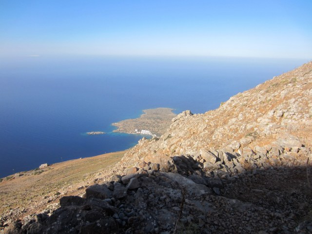 View down to Loutro