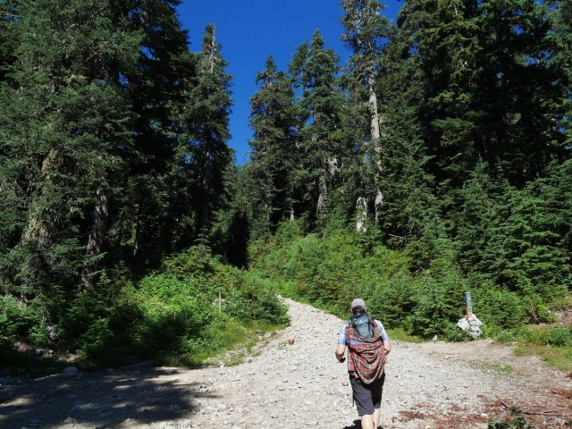 Path to Dam Mountain
