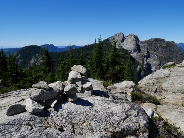 Crown Mountain From Goat Mountain