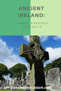 Ancient Ireland - exploring tombs, crosses and finding cat carvings