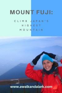 Tips to climb Mount Fuji