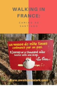 Walking in France - Camino de Santiago