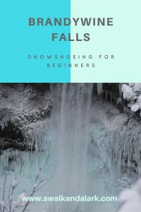 Brandywine Falls - Snowshoeing for Beginners