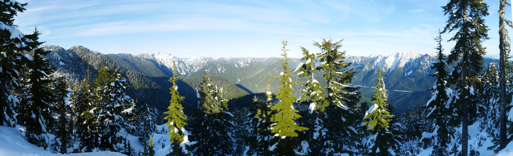Best Panorama Hollyburn Mountain