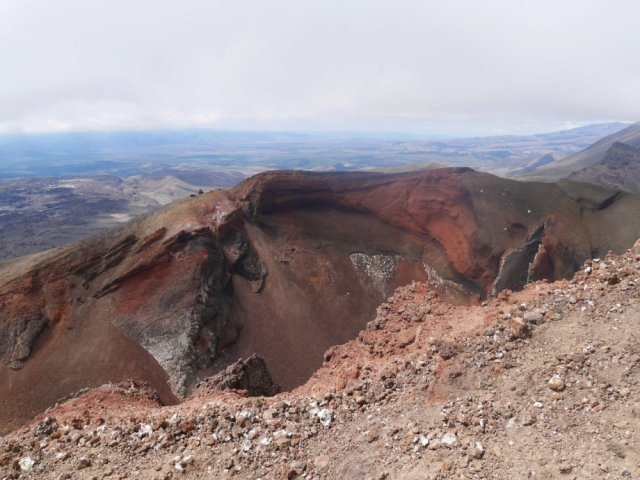 Red Crater at Tongariro