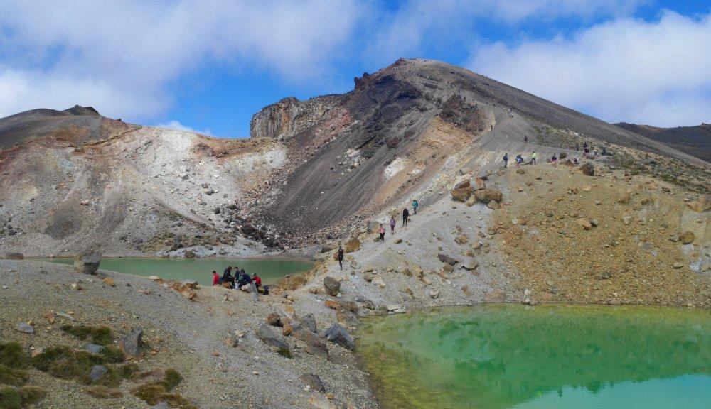 The emerald lake is sooo pretty