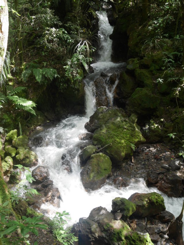Waterfall near Ketetahi car park