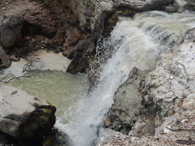 Lake Ngakoro Waterfall
