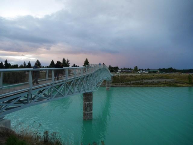 Bridge over Tekapo river