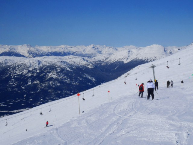 Snow over Whistler