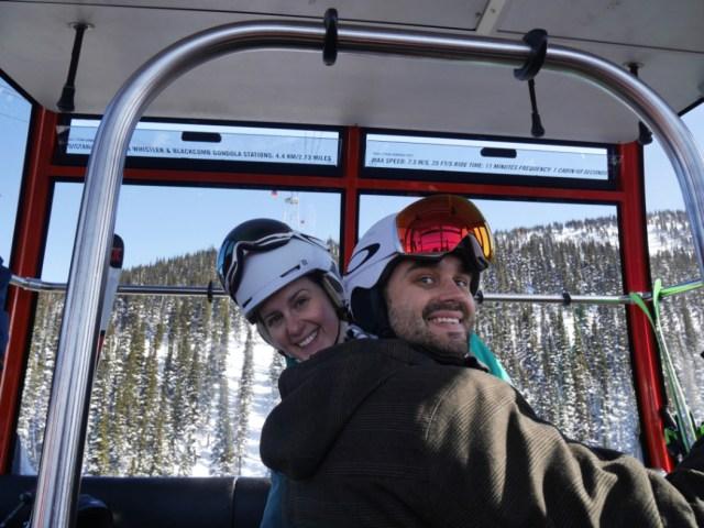 Marc and I on the Peak to Peak