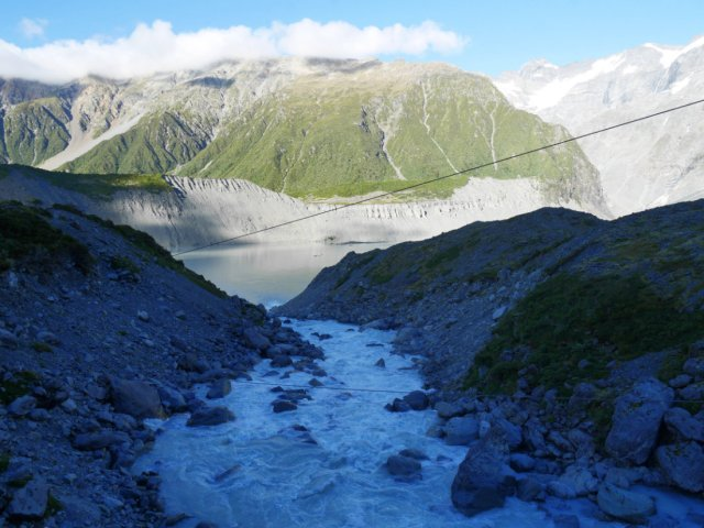 That's Mount Ollivier where we climbed the previous day
