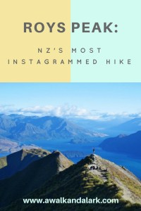 Roys Peak - New Zealand's most instagrammed hike?