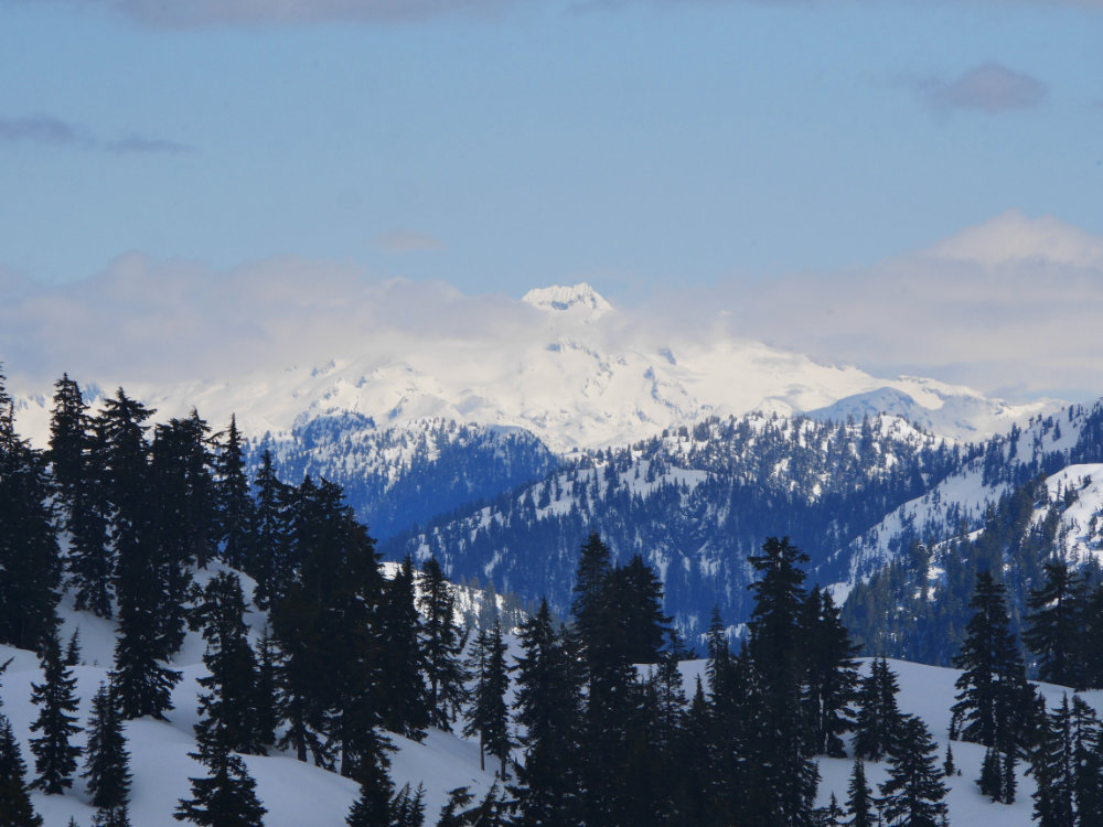 The Snowshoe Grind - Grouse Mountain - A walk and a lark