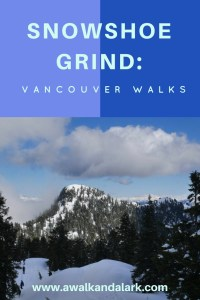 Snowshoe Grind - Grouse Mountain in Vancouver