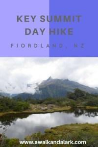 Key Summit Day Hike tarn