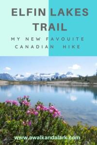 Elfin Lakes Trail - Garibaldi Provincial Park
