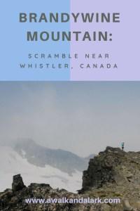 Brandywine Mountain near Whsitler, Canada