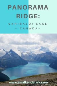 Panorama Ridge and Garibaldi Lake
