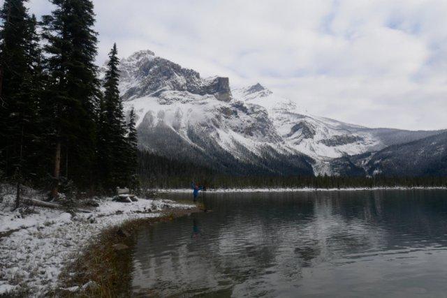 The President Range from Emerald lake