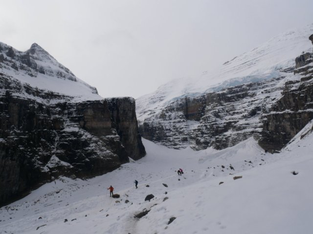 Plain of the Six Glaciers and the Victoria Glacier