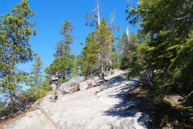 Al's Habrich ridge trail slopes