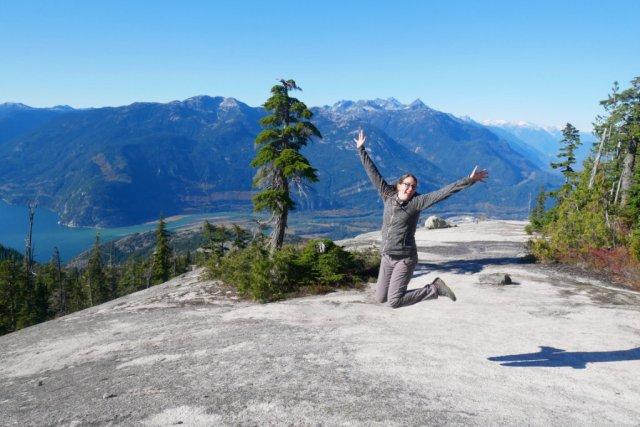 Jump on Al's Habrich ridge
