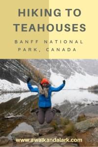 Hiking to Teahouses - the Big Beehive and Lake Agnes