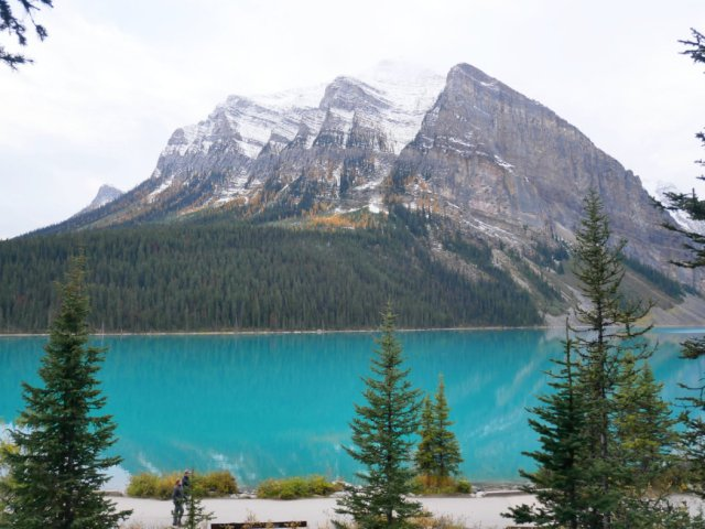 Fairview Mountain and Lake Louise