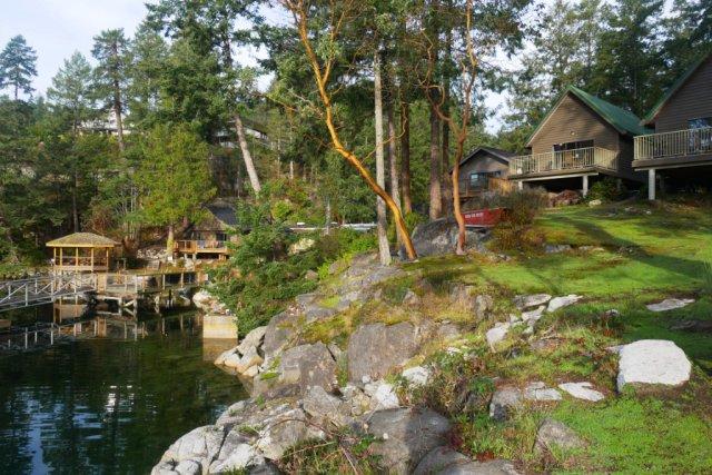 Pender Harbour Resort cabins
