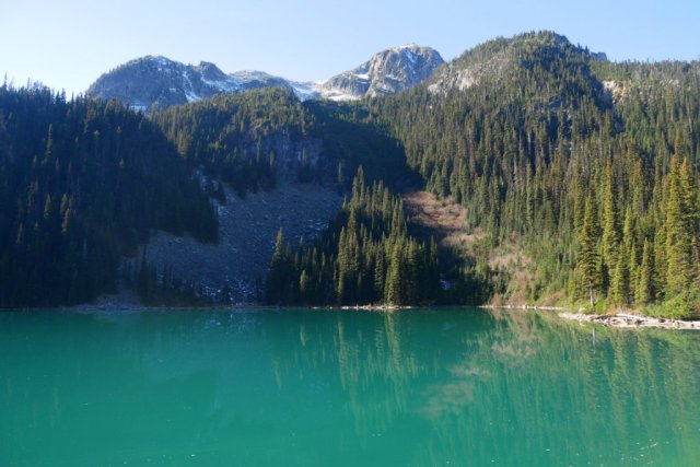 Incredible colour of Joffre Lakes