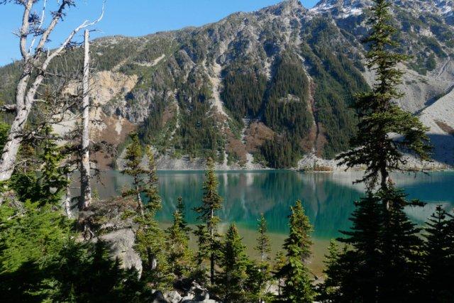 Pretty Joffre Lake views