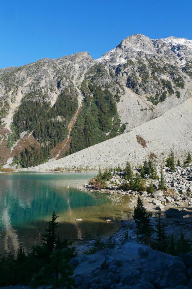 Perfect Joffre Lake view