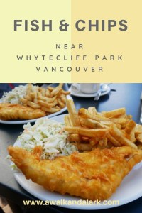Whytecliff Park - Fish and Chips