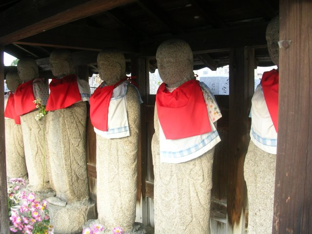 Jizo on the Yamanobe no michi