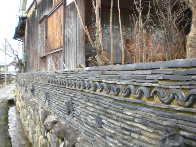 More cool village walls