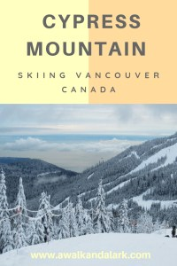 Cypress Mountain ski runs