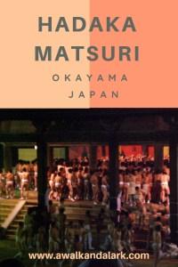 Hadaka Matsuri - the naked man festival - Okayama Japan