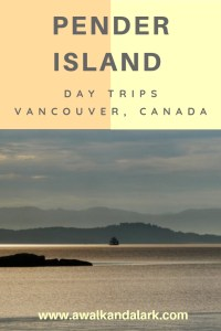 Pender Island - Day Trips from Vancouver