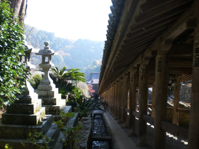 View of the Noboriruo covered staircase