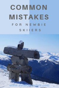 Common Skiing Mistakes Newbies should avoid