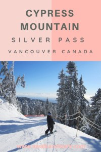Cypress Mountain silver pass - Skiing Vancouver Canada